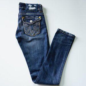 MEK Denim USA Cigarette Style Jeans